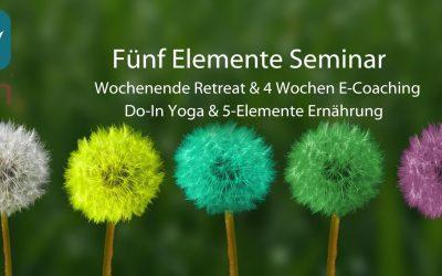 Fünf Elemente Wochenende in Kranenburg (D)